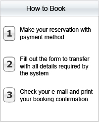 How to book a transfer in Europe