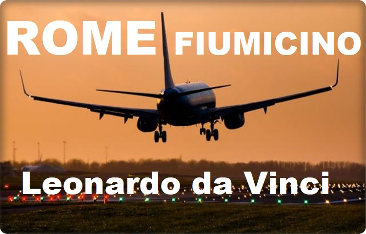 Private Taxi from Rome Airport Leonardo da Vinci wherever you want to go