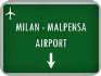 Private Taxi transfer from Lugano City (CH) to Milan Malpensa Airport