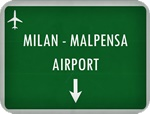 Private Taxi transfer from Como City to Milan Malpensa Airport