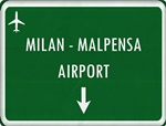 Private Taxi transfer from Zurich City (Switzerland) to Milan Malpensa Airport