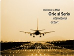 Private Taxi transfer from Como City to Milan-Orio al Serio Airport
